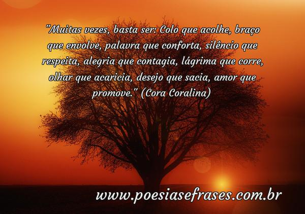 Colo Que Acolhe Poesias Frases